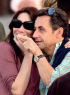 Карла Бруни и Николя Саркози назвали дочку «георгином»