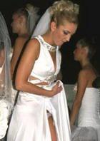 Ольга Бузова продемонстрировала платье и заодно нижнее белье