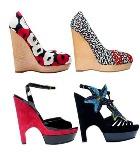 Весенняя коллекция модной обуви от Yves Saint Laurent