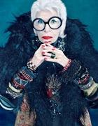 Лицом коллекции от бренда МАС стала 90-летняя икона стиля Айрис Апфель