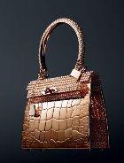 Компания Hermès создала бриллиантовые сумки