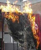 Директор итальянского музея намеренно сжег картину
