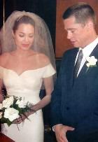 У Анджелины Джоли будет свадебное платье от Versace