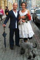 Евгений Стычкин и Ольга Сутулова поженились