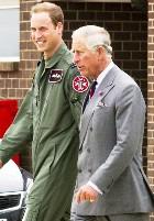 Принц Уильям снова спас людей