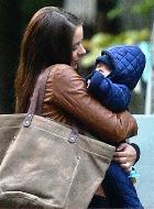 Марина Александрова снимается в кино с новорождённым сыном