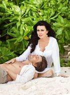 Анастасия Заворотнюк вместе с супругом отдыхает на Сейшелах