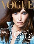 Карла Бруни – опять модель