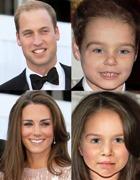 Как будет выглядеть ребёнок принца Уильяма и Кейт?