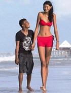 Самая высокая девушка в мире нашла своё счастье