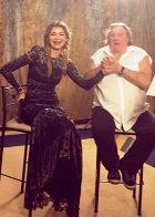 Дочь президента Узбекистана Гульнара Каримова спела с Жераром Депардье