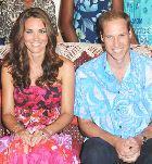 Кейт Миддлтон и принц Уильям проводят отпуск на Карибском море
