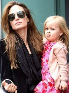 Дочь Анджелины Джоли: дебют в кино