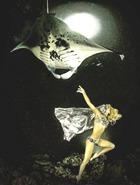 Танец мечты в глубинах вод со скатом