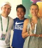 Мария Шарапова выиграла крупный турнир WTA