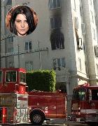 Пожар унёс собаку и жильё актрисы Эшли Грин