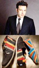 Бен Аффлек выступит создателем коллекции обуви