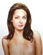 Портрет прооперированной Анджелины Джоли выставят на аукцион