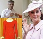 Литовский дальнобойщик связал платье для Кейт Миддлтон