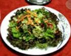 Салат из мяса дичи и овощей