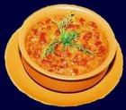 Суп из фасоли с томат-пюре
