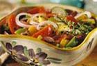 Салат из помидоров со сладким перцем по-болгарски
