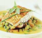 Рыбное филе под соусом