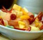 Салат яблочно-банановый