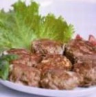 Фрикадельки с салатом