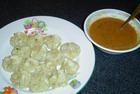Тортеллини (пельмени) с лимонным соусом