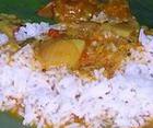 Ароматный рис с бананами