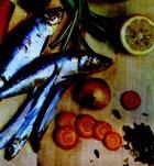 Сардины тушеные с овощами
