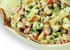 Салат из отварного мяса
