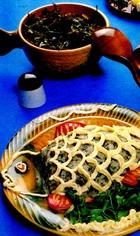 Ставрида рубленая с морской капустой