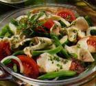 Салат с куриным мясом по-тюрингски