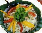 Салат из витлуфа с крабами