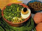 Салат «Зеленый горошек»