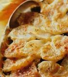 Картофель, запеченный со шпинатом
