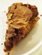 Пирожное с финиками и орехами