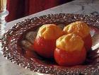 Пудинг в апельсиновых чашечках