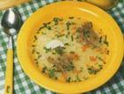 Суп овощной с говядиной