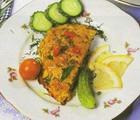 Рыба с картофелем, запеченная в сметане