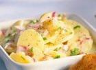 Картофельный салат с маринадом