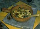 Фасоль запеченная с яйцом