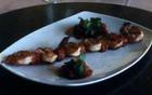 Гриль-креветки под соусом