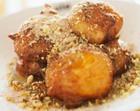 Творожные пончики «Мандаринчики»