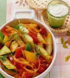 Овощная смесь в сметанном соусе