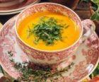 Пикантный гороховый суп