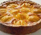 Яблочный пирог с глазурью