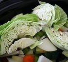 Капуста, тушенная с мясом и овощами